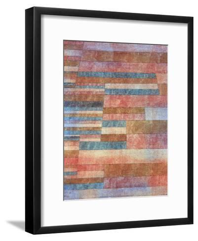 Steps, 1921-Paul Klee-Framed Art Print