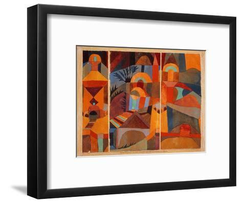 Temple Gardens, 1920-Paul Klee-Framed Art Print