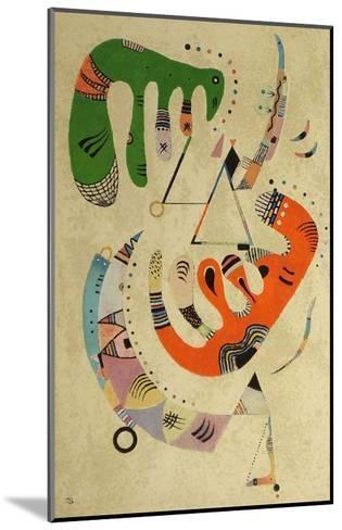 Composition ll, 1922-Wassily Kandinsky-Mounted Art Print