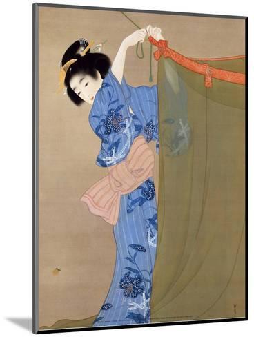 Firely, 1913-Shoen Uemara-Mounted Art Print