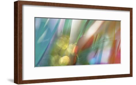 Emerald-Carla West-Framed Art Print