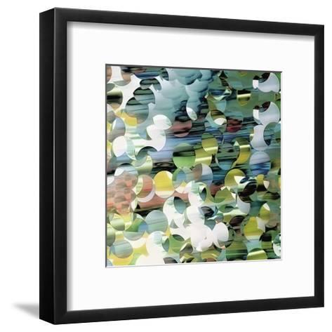 Ripples Right-Carla West-Framed Art Print