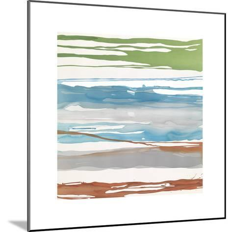 In Between Color VII-Rob Delamater-Mounted Giclee Print