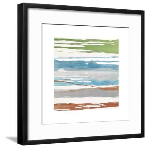 In Between Color VII-Rob Delamater-Framed Art Print
