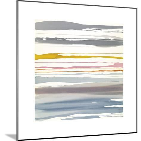 In Between Color XIV-Rob Delamater-Mounted Giclee Print