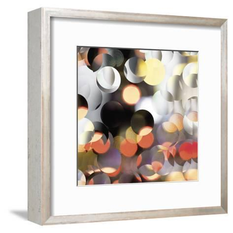 Raindrops 3-Carla West-Framed Art Print