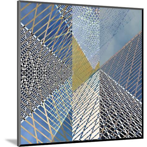 Steel And Sky 3-Carla West-Mounted Giclee Print