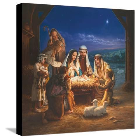 Holy Night-Mark Missman-Stretched Canvas Print