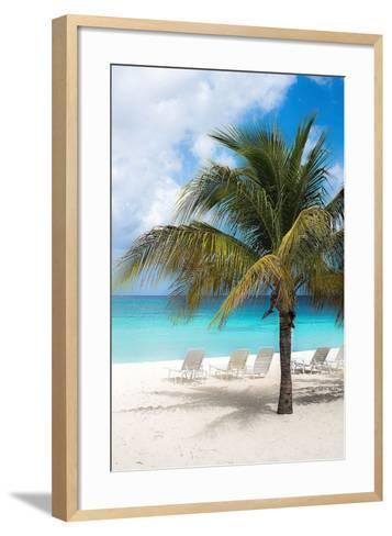 Relaxing Beach-Bill Carson-Framed Art Print