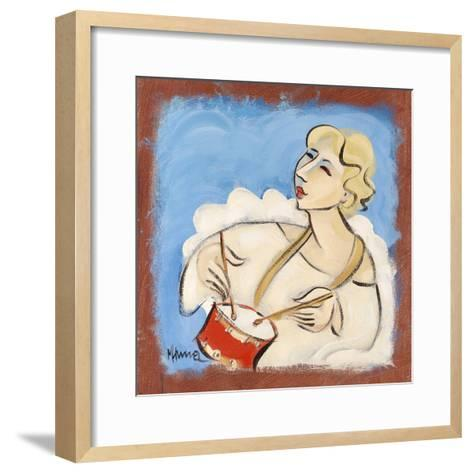 Angels in Harmony IV-Marsha Hammel-Framed Art Print