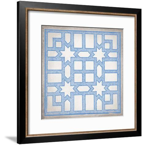 Ancient Geometry I-Maria Mendez-Framed Art Print