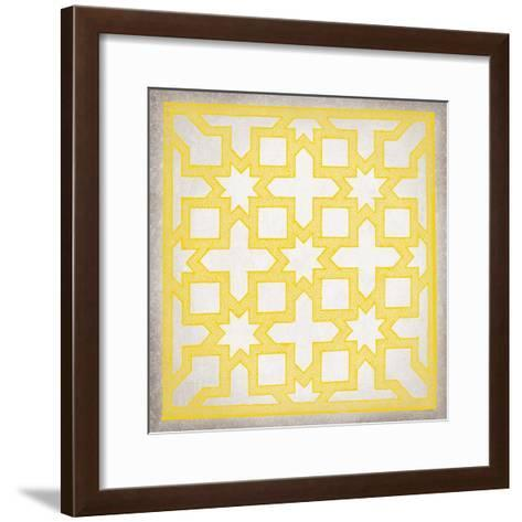 Ancient Geometry III-Maria Mendez-Framed Art Print