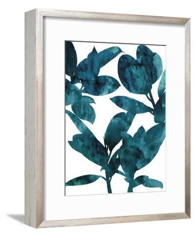 Ficus Elastica-Tania Bello-Framed Art Print