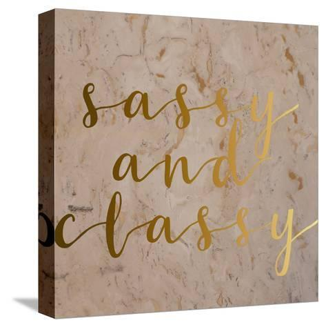 Sassy and Classy-Jelena Matic-Stretched Canvas Print