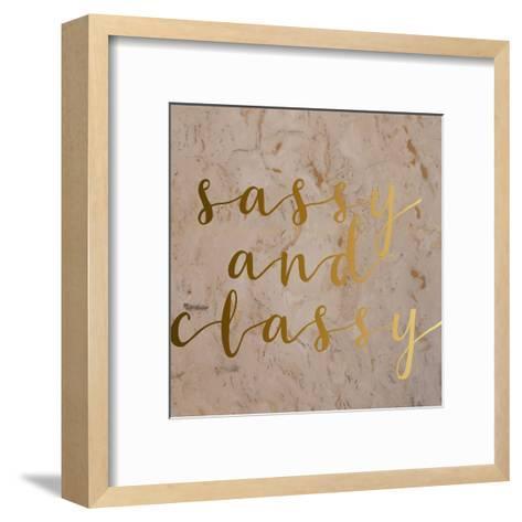 Sassy and Classy-Jelena Matic-Framed Art Print