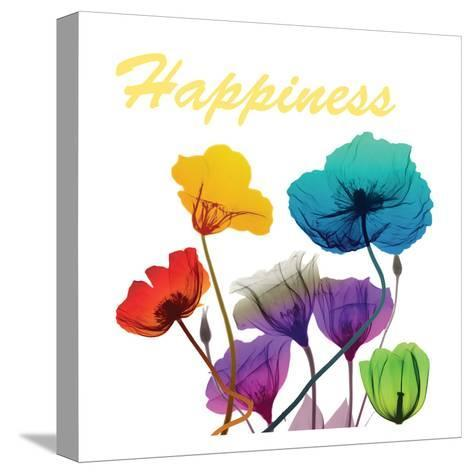 Floral Pop Happines-Albert Koetsier-Stretched Canvas Print