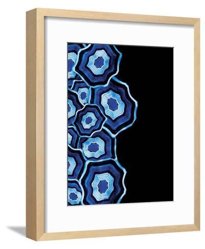 Other Half Of Blue Agates-Jace Grey-Framed Art Print