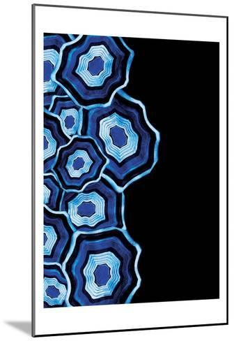 Other Half Of Blue Agates-Jace Grey-Mounted Art Print