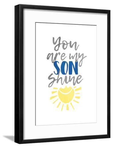 Son Shine-Jace Grey-Framed Art Print