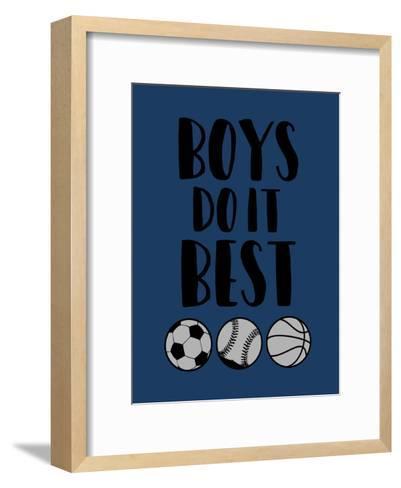 Boys Do It-Jace Grey-Framed Art Print