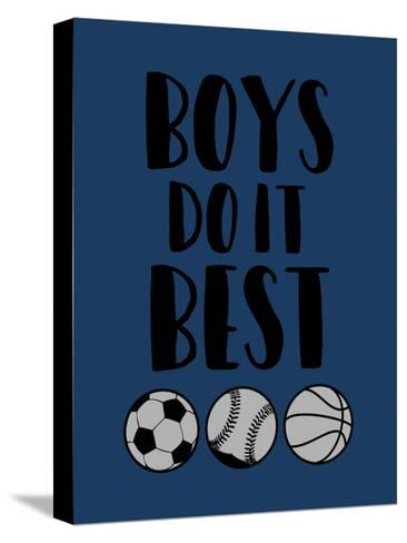 Boys Do It-Jace Grey-Stretched Canvas Print