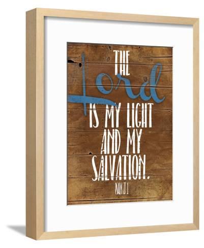 Lord Salvation-Jace Grey-Framed Art Print