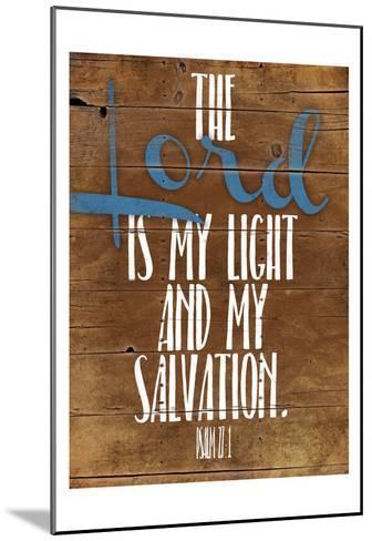 Lord Salvation-Jace Grey-Mounted Art Print