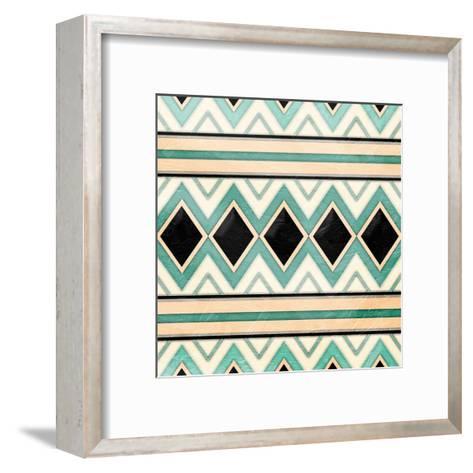 Native Diamonds-Jace Grey-Framed Art Print