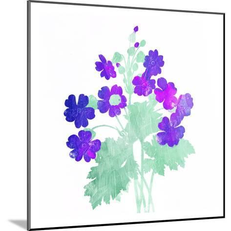 Watered Down Purple-Jace Grey-Mounted Art Print