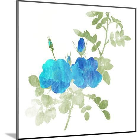 Watered Down Blue-Jace Grey-Mounted Art Print