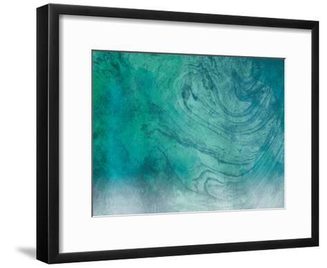 Marble Coastal-Jace Grey-Framed Art Print