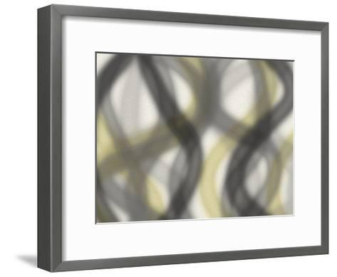 Blurred Lines-Jace Grey-Framed Art Print