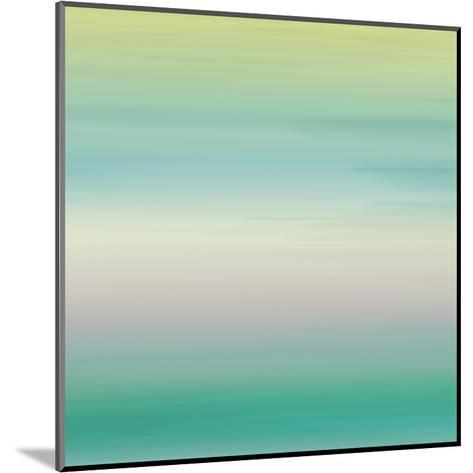 Calm Sea Breeze-Jace Grey-Mounted Art Print
