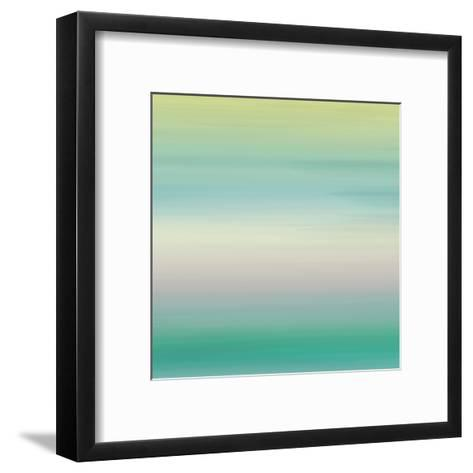 Calm Sea Breeze-Jace Grey-Framed Art Print