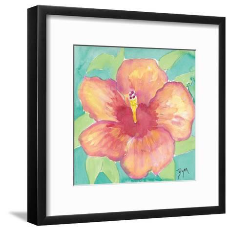 Sunset Hibiscus II-Beverly Dyer-Framed Art Print
