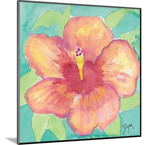Sunset Hibiscus II-Beverly Dyer-Mounted Art Print