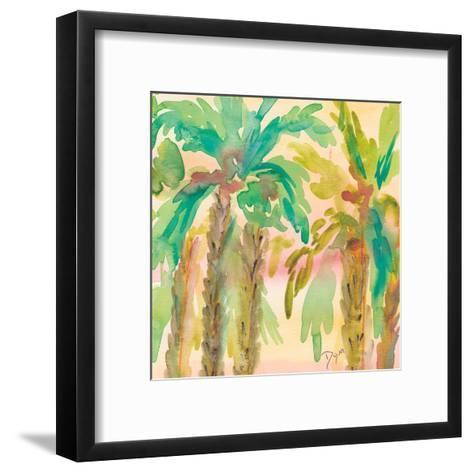 Sunset Palms 1-Beverly Dyer-Framed Art Print
