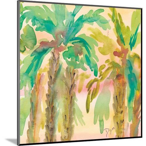 Sunset Palms 1-Beverly Dyer-Mounted Art Print