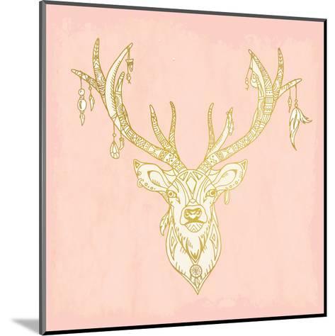 Native Buck-Kimberly Allen-Mounted Art Print
