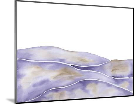 Lavender Seas 1-Pam Varacek-Mounted Art Print