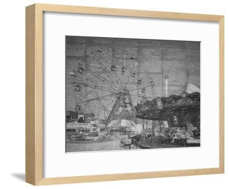 Boadwalk View-Sheldon Lewis-Framed Art Print