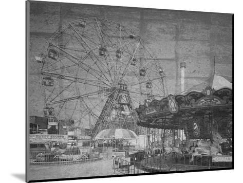 Boadwalk View-Sheldon Lewis-Mounted Art Print