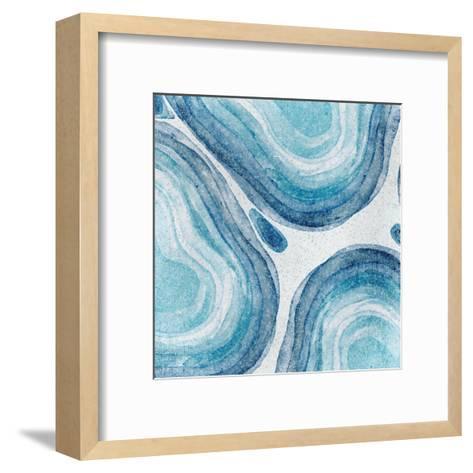Agate 1-Kimberly Allen-Framed Art Print