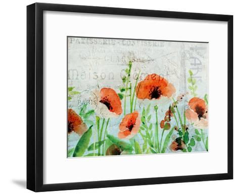Paris In The Spring-Kimberly Allen-Framed Art Print