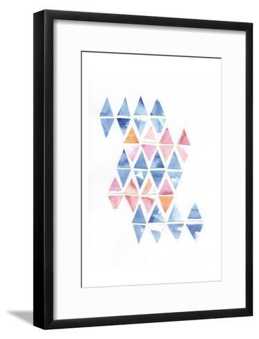 Diamond Cluster 2-Pam Varacek-Framed Art Print
