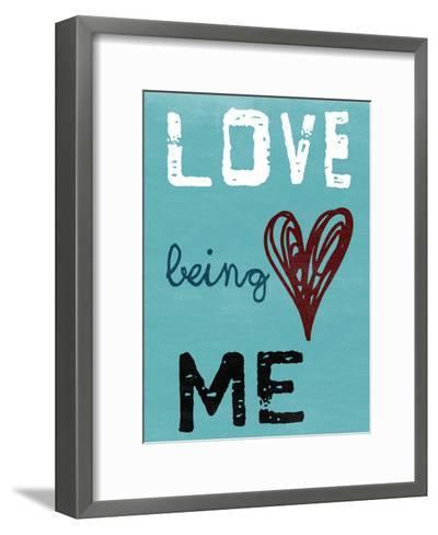 Being Me-Sheldon Lewis-Framed Art Print