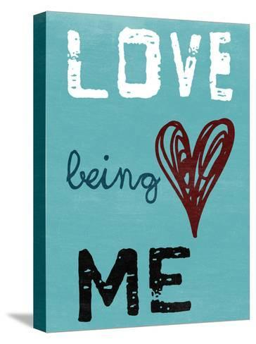 Being Me-Sheldon Lewis-Stretched Canvas Print