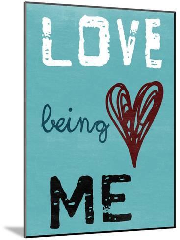 Being Me-Sheldon Lewis-Mounted Art Print