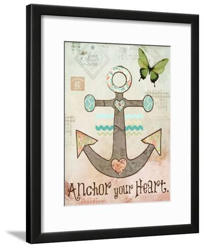 Vintage Sea 3-Melody Hogan-Framed Art Print