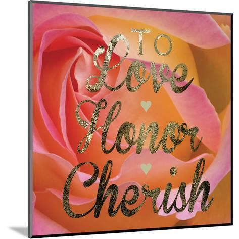Cherished Love-Melody Hogan-Mounted Art Print